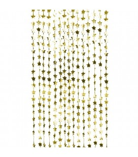 Gold Star Curtain