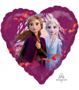 Standard Frozen 2 Foil Heart Balloon