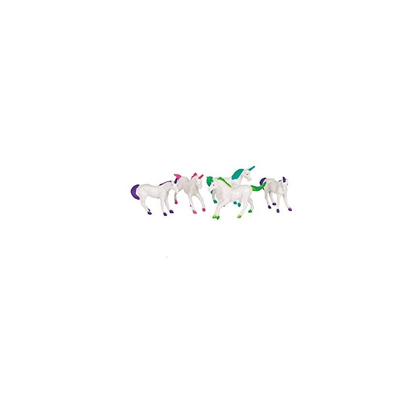 8 Unicorn Figurines