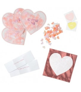 Lot de 8 cartes de Saint Valentin