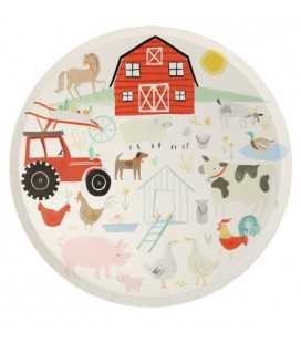 Grandes Assiettes Farm Fun