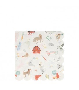 20 Farm Fun Napkins