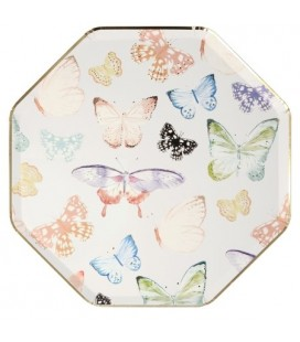 Butterfly Sparkle Dinner Plates