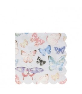 Butterfly Sparkle Dinner Napkins
