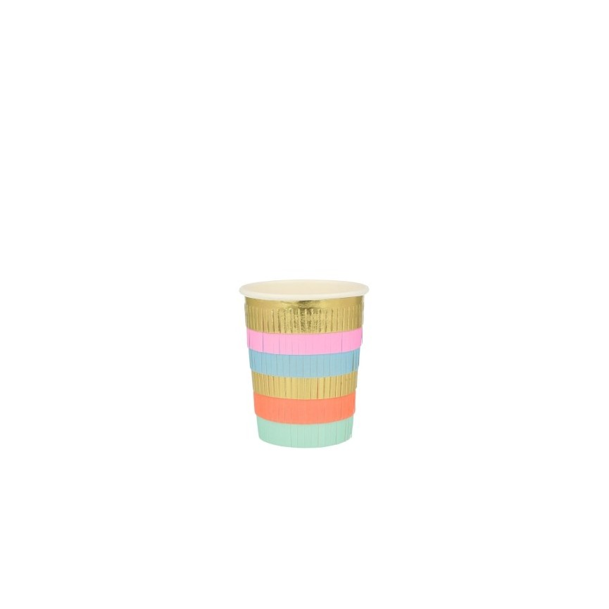 Circus Party Cups with Fringes