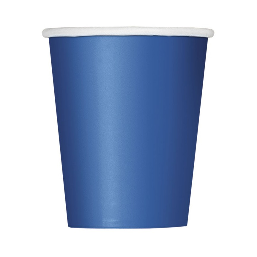 14 Royal Blue Cups