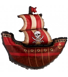 Pirate Ship Mylar Balloon