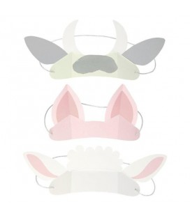 8 Farm Animal Ears