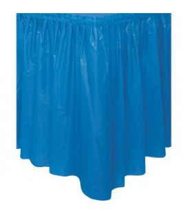 Royal Blue Tableskirt