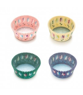 75 Flowers Cupcake Liners