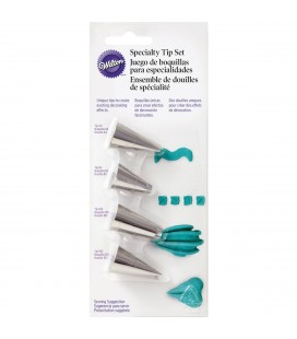 Piping Tips Set - 4 pieces