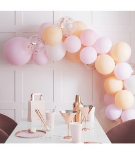 Peach & Pink Balloon Arch Kit
