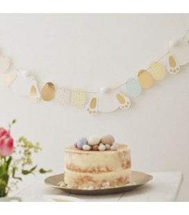 Bunny and Easter Egg Bunting