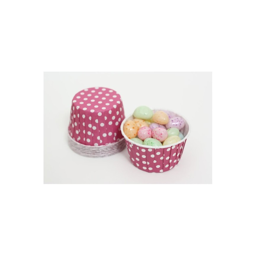 25 Candy Cups Magenta