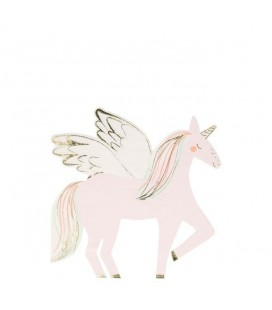 Winged Unicorn Napkins Meri Meri