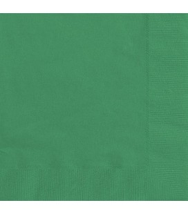 20 Green Lunch Napkins