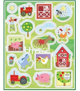 Farm Party Stickers