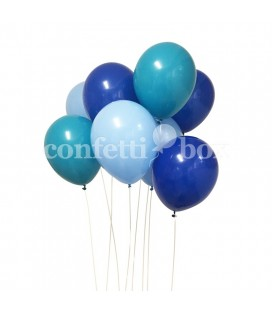 "Balloon Bouquet ""True Blue"""
