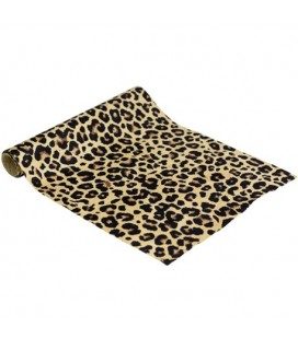 Leopard Suede Table Runner