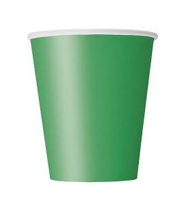 8 Green Cups