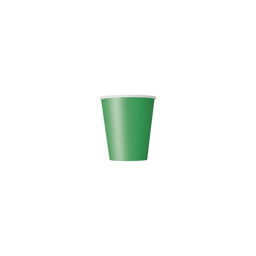 14 Green Cups