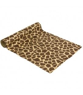 Giraffe Suede Table Runner