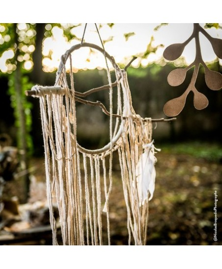 Coton & Wood Dream Catcher