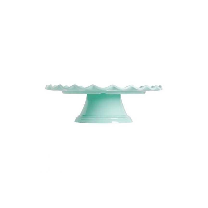 Mint Wave Cake Stand Wave