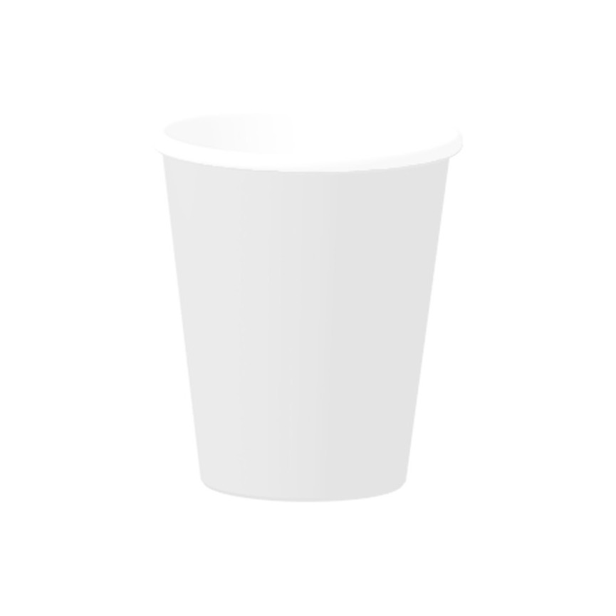 14 White Cups