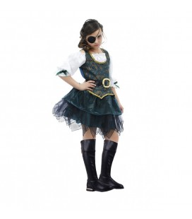 Angelic Buccaneer Pirate Girl Costume