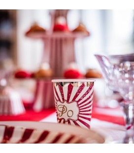 Vintage Circus Cups