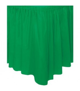 Green Tableskirt