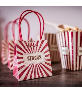 4 Vintage Circus Treat Bags