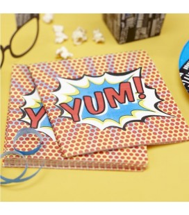 Super Heros Napkins - YUM