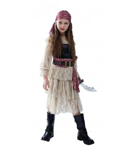 Lace Pirate Girl Costume