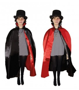 Reversible Cape Black/Red