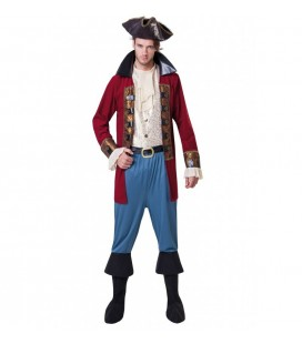 Pirate Captain Man Costume