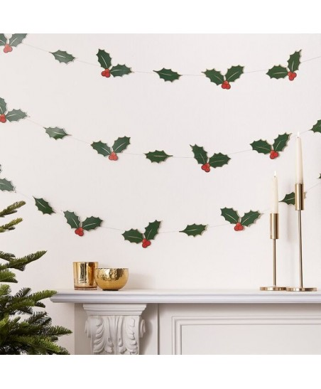 Holly Leaves Garland