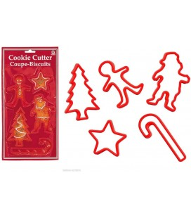 5 Christmas Cookie Cutters