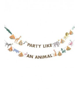 Party Like an Animal Banner