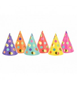 6 Dots Party Hats