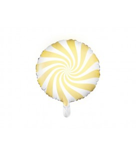 Yellow Yummy Candy Foil Balloon