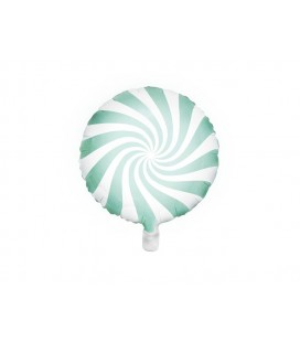 Mint Yummy Candy Foil Balloon