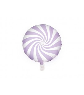 Lilac Yummy Candy Foil Balloon