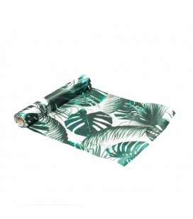 Chemin de Table Satin Tropical