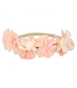 Pink Blossom Crowns
