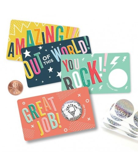 AMAZING Scratch-off-cards