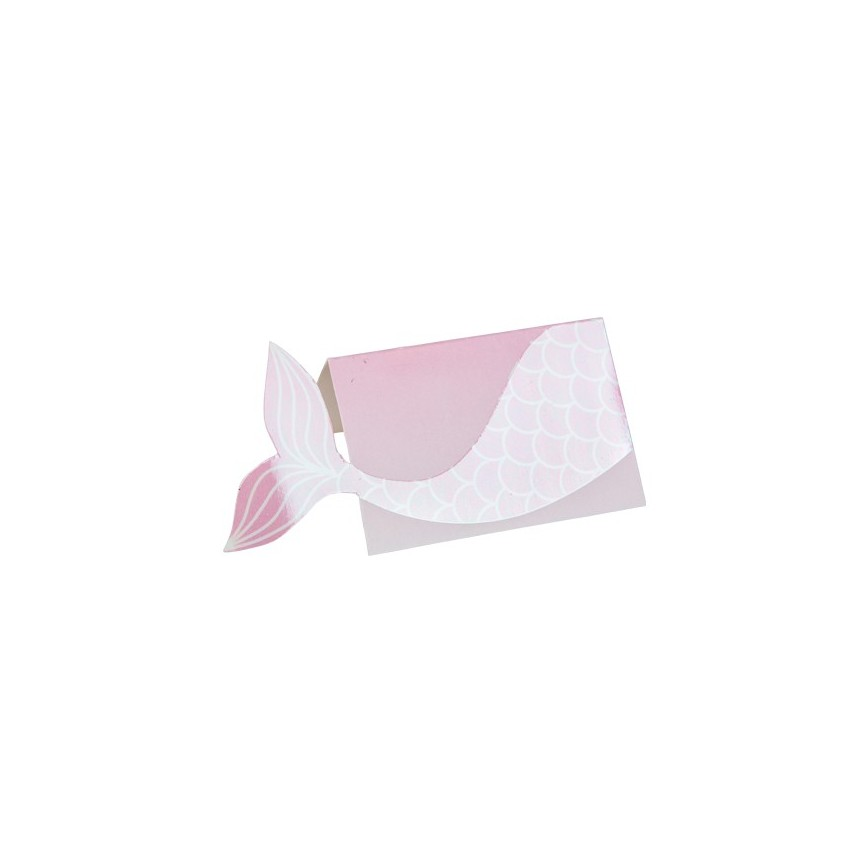 8 Mermaid Place Cards