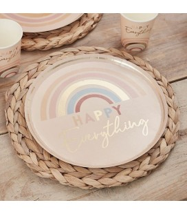 Assiettes Happy Everything