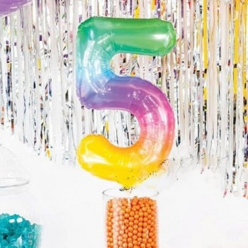 Letters & Numbers Mylar Balloons